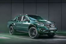 Carlex Design Mercedes X-Klasse Racing Green Edition