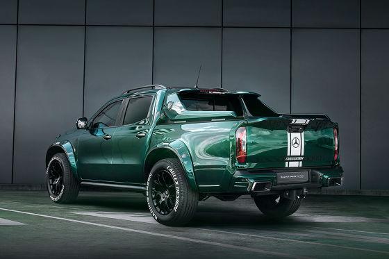 Carlex Design Mercedes X-Klasse Racing Green Edition
