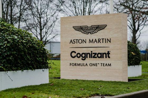 Vettel erstmals im Dienst bei bei Aston Martin