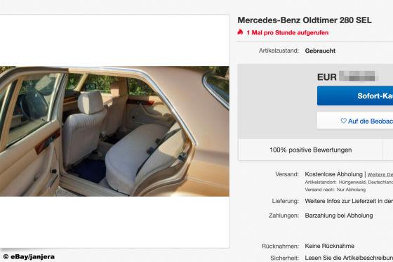 Mercedes-Benz Oldtimer 280 SEL