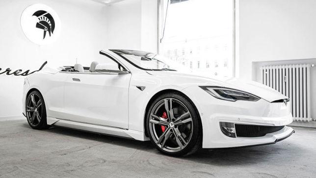 Tesla Model S Cabrio von Ares Design