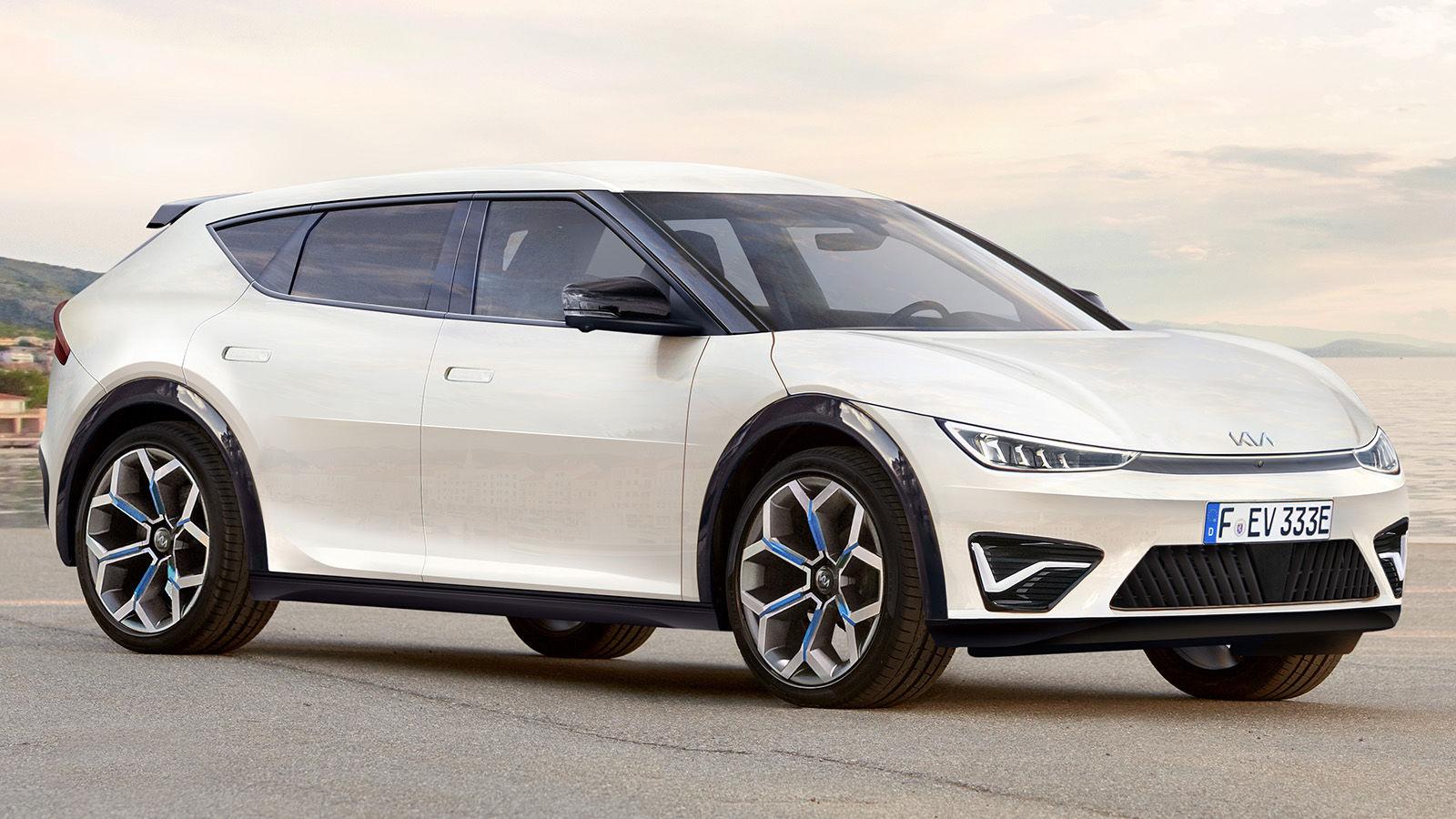 Kia CV (2021): Crossover - Elektro - Marktstart - Optik ...