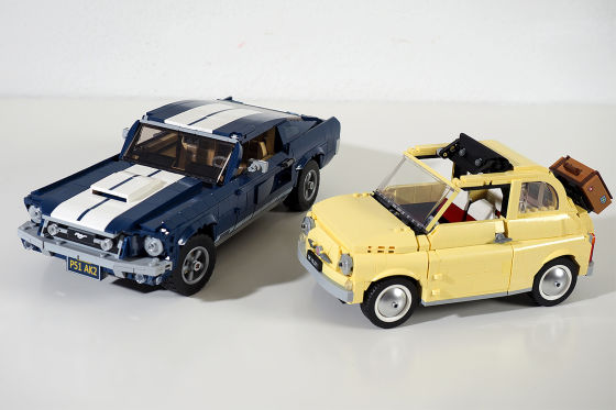 Lego Ford Mustang GT     Fiat 500