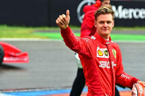 Schumi jr. bekommt nächste Ferrari-Probefahrt