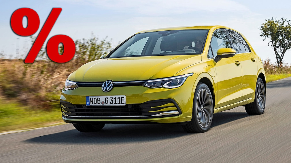 VW Golf 8 eHybrid - Prozent Montage