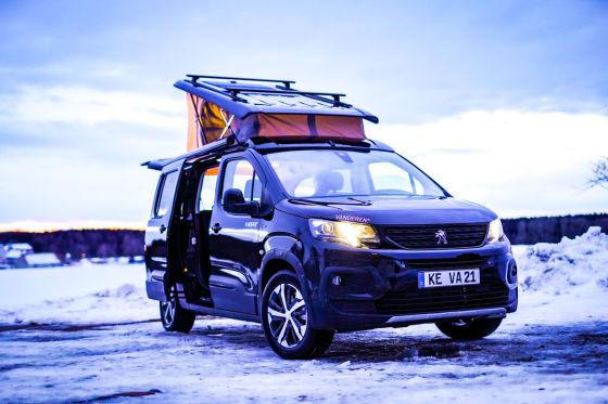Camper von Vanderer (Basis: Peugeot Rifter)