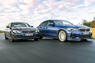 Alpina gegen BMW im 3er-Kampf