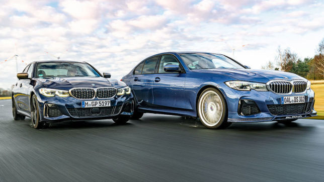 Alpina D3 S Allrad vs. BMW M340d xDrive
