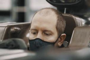 Vettel zeigt sich mit Corona-Frisur