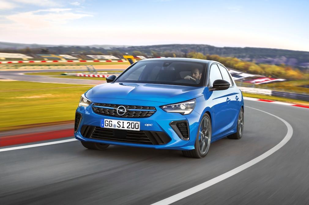 Opel Corsa-e OPC ILLUSTRATION