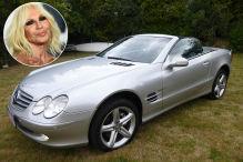 Dieser SL 500 geh�rte Donatella Versace!