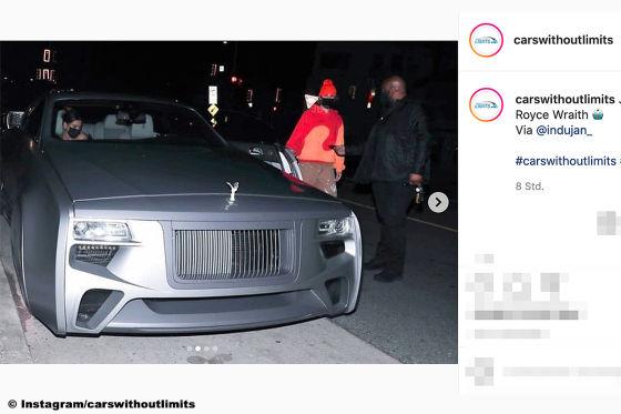 """Justin Bieber fährt im """"Cyberpunk"""" Rolls-Royce vor"""