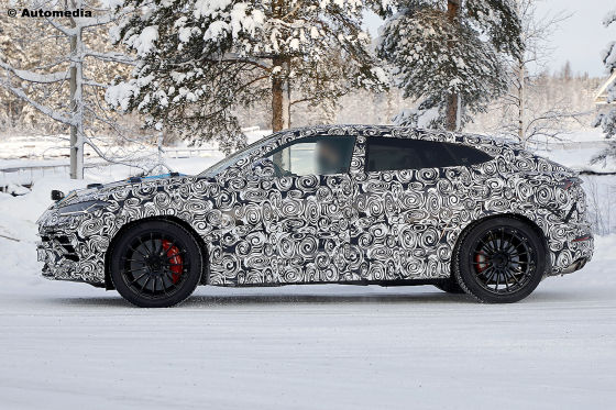 Erlkönig Lamborghini Urus EVO
