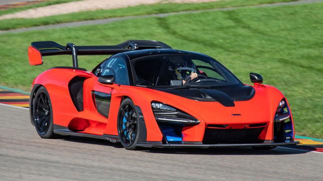 McLaren Senna: Rekordfahrt am Sachsenring