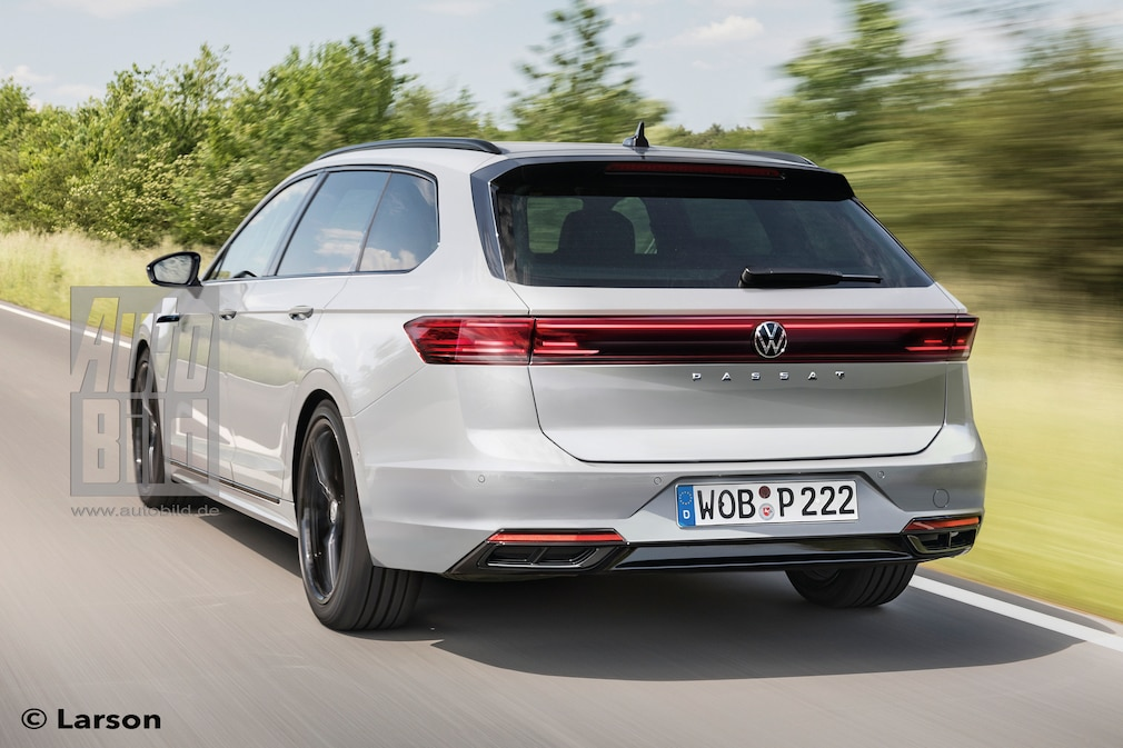 VW Passat B9 Variant R-Line Plug-in-Hybrid