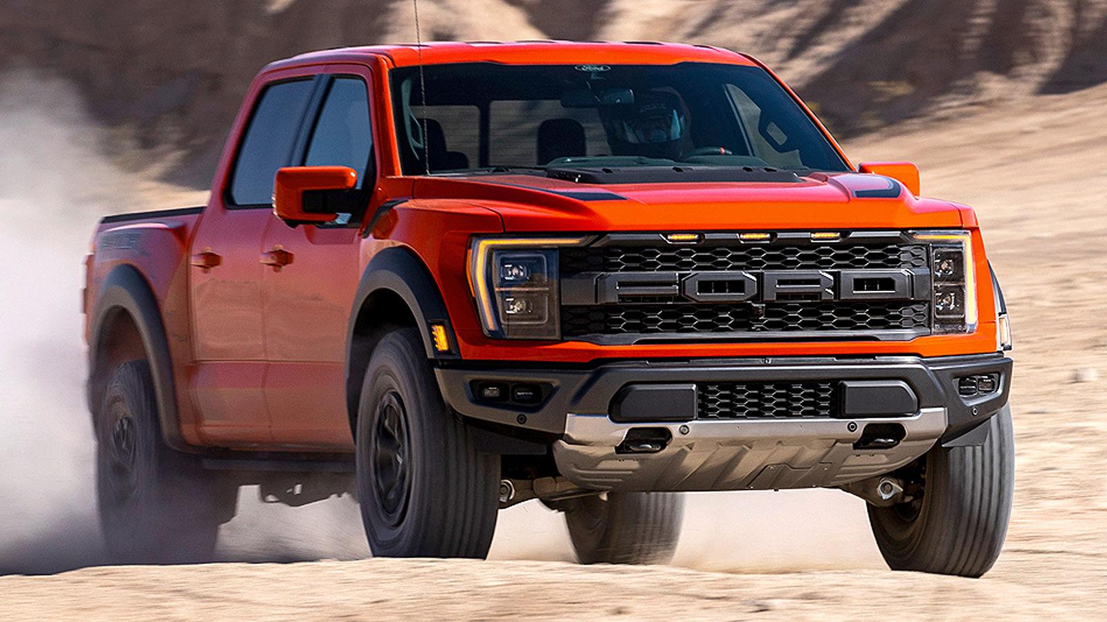 Ford F-150 Raptor (2021): Pick-up - Motor - Fahrwerk ...