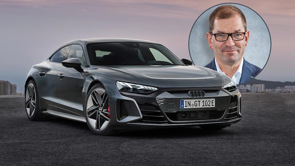 Audi e-tron GT - Markus Duesmann