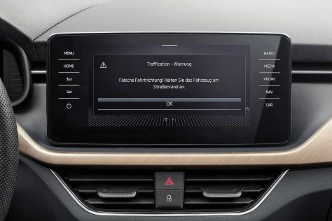Dank Bosch warnen ŠKODA-Fahrzeuge jetzt serienmäßig vor Falschfahrern