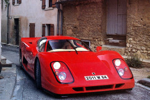 Vergessener Supersportwagen mit W16