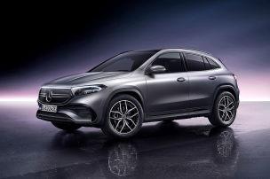 Mercedes EQA 250 (2021): Leasing