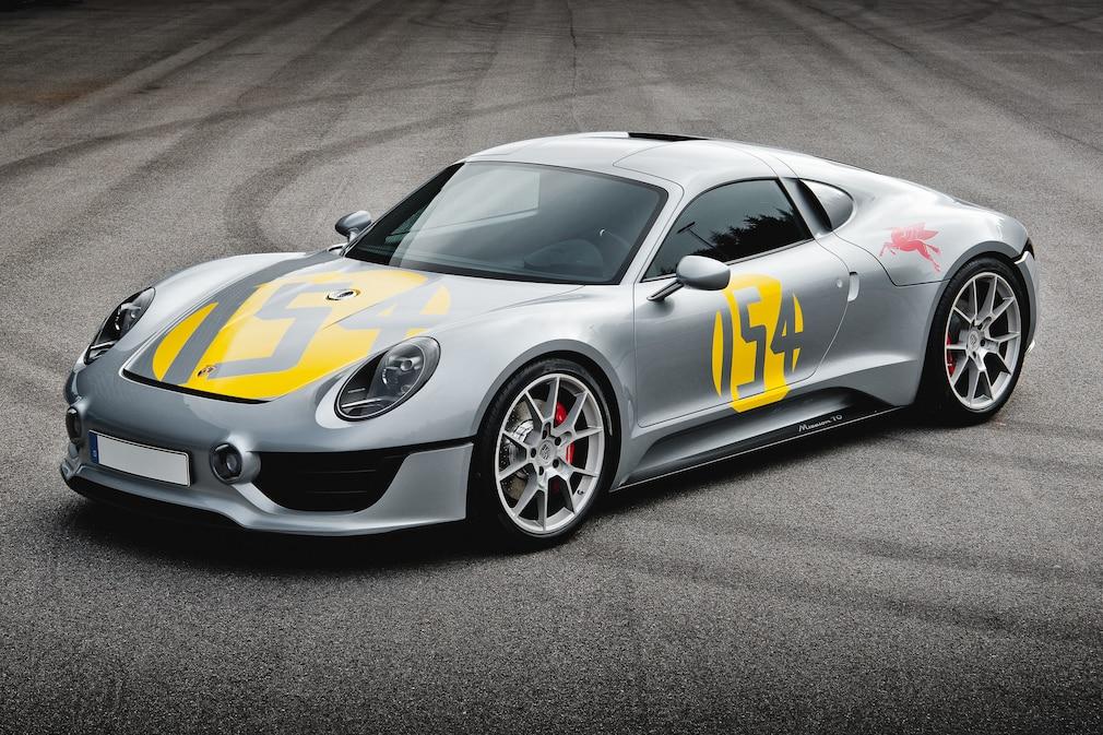 Porsche Le Mans Living Legend Studie