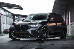 Manhart-BMW X5 M mit �ber 800 PS
