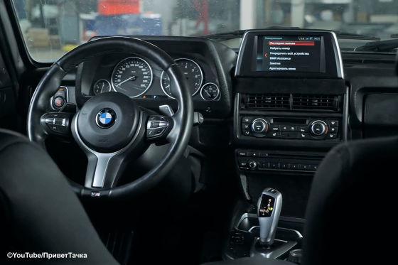 Lada Niva mit BMW-Technik und 250 PS