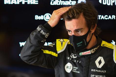 Formel 1: Alonso, Unfall, Alpine