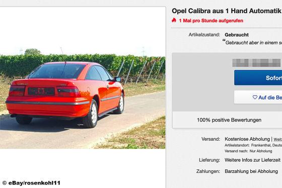 Opel Calibra 2,0 8V