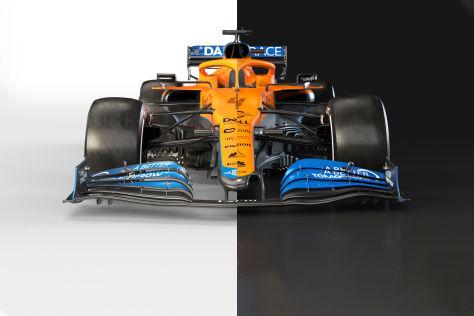 McLaren zeigt neues Formel-1-Auto