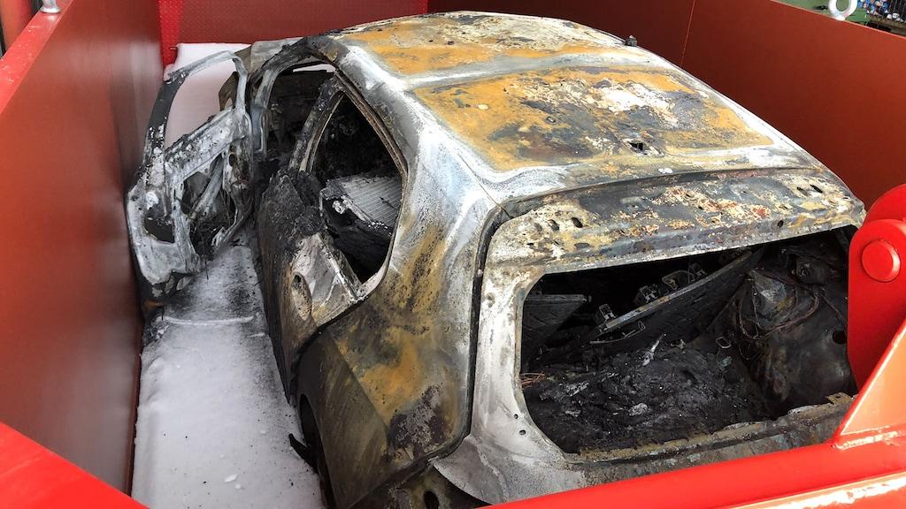 Neuer Golf GTE fängt plötzlich Feuer