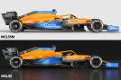 Formel 1: McLaren MCL35 und MCL35M im Vergleich
