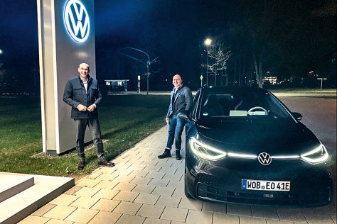 VW ID.3 Interview Ralf Brandstätter