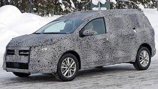 Neuer Dacia Logan MCV in Tarnung gesichtet