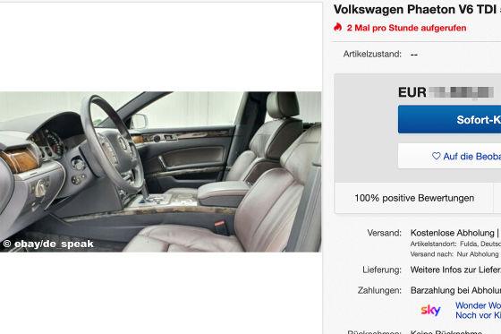 Volkswagen Phaeton V6 TDI 4-Motion Exclusiv