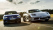 VW Golf R    Porsche 718 Cayman
