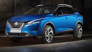 Auffällige Front im neuen Nissan Qashqai