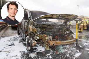 Wozu aufregen �ber brennende E-Autos?