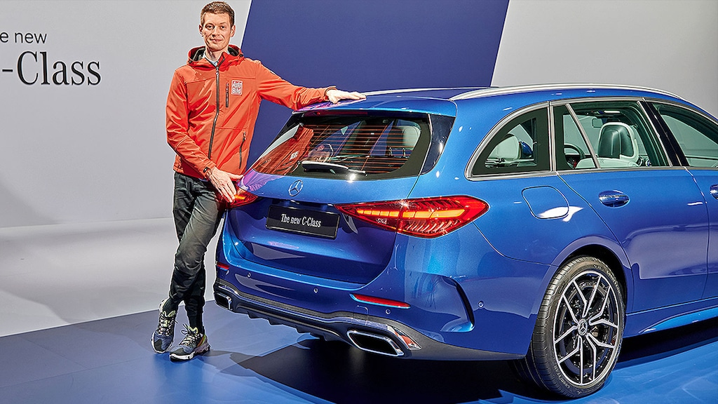 So the new C-Class comes as a station wagon