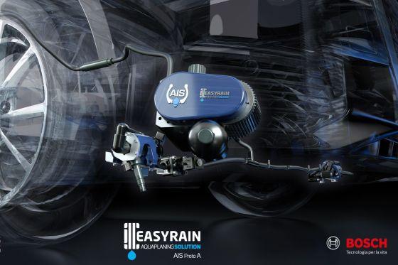 Easyrain kämpft mit Wasser gegen Aquaplaning. So funktioniert die Technik