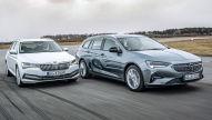 Opel Insignia und Skoda Superb