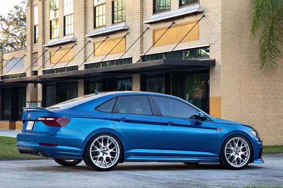 VW Blue Lagoon Jetta GLI concept
