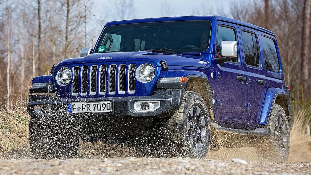 Jeep Wrangler 2.2 L CRDi unlimited