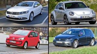 So gut sind gebrauchte VW-Modelle