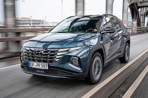 Der Hyundai Tucson Hybrid ist zu durstig
