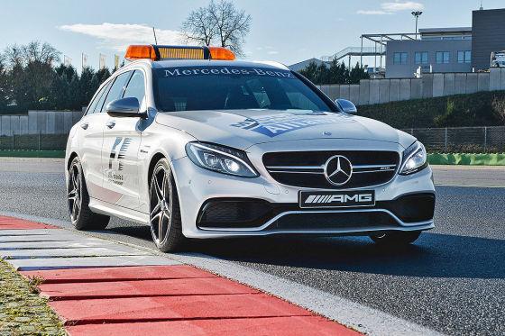 Mercedes-AMG C 63 S F1 Medical Car