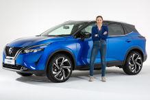 Nissans neuer Qashqai wird eckiger und bekommt eine auffällige Front