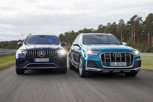 Mercedes-AMG GLE 63 S, Audi SQ7: SUVs im Test