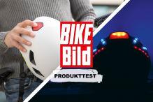 Produkttest Helm Bike Bild