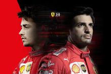 Formel 1: Ferrari, Sainz, Leclerc